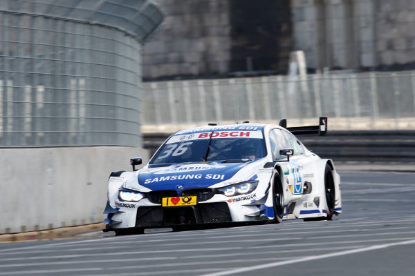 2017 DTM Round 4 Norisring, Nuremburg, Germany Friday 30 June 2017. Maxime Martin, BMW Team RBM, BMW M4 DTM World Copyright: Alexander Trienitz/LAT Images ref: Digital Image 2017-DTM-R3-NOR-AT1-0342