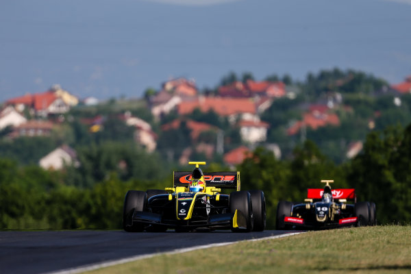 BUDAPEST (HUN) JUNE 12-14 2015 World  series by Renault 2015 at the Hungaroring Roberto Merhi #40 Pons racing. Action. © 2015 Klaas Norg / Dutch Photo Agency / LAT Photographic