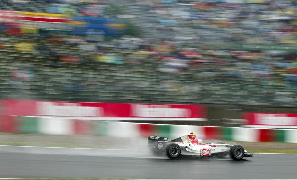 2004 Japanese Grand Prix - Friday Practice,Suzuka, Japan. 8th October 2004 Anthony Davidson, BAR Honda 006, action.World Copyright: Steve Etherington/LAT Photographic ref: Digital Image Only