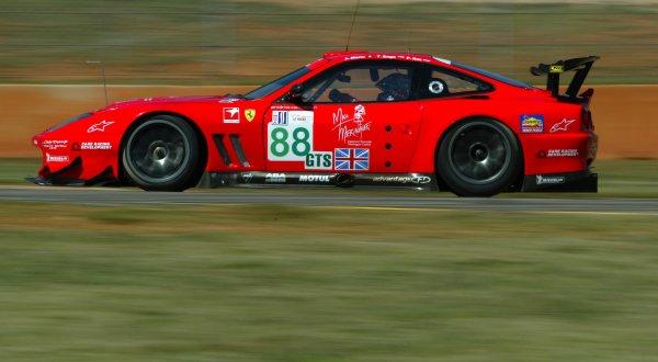 2003 ALMS Petit LeMansProdrive Ferrari GTS class.September 15 - 18, 2003, Winder, GA, USA,Copyright: Richard Dole/LAT Photographic