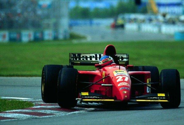 1995 Canadian Grand Prix.Montreal, Quebec, Canada.9-11 June 1995.Jean Alesi (Ferrari 412T2) 1st position.World Copyright - LAT Photographic
