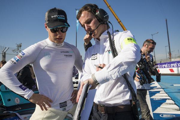 Stoffel Vandoorne (BEL), HWA Racelab, on the grid