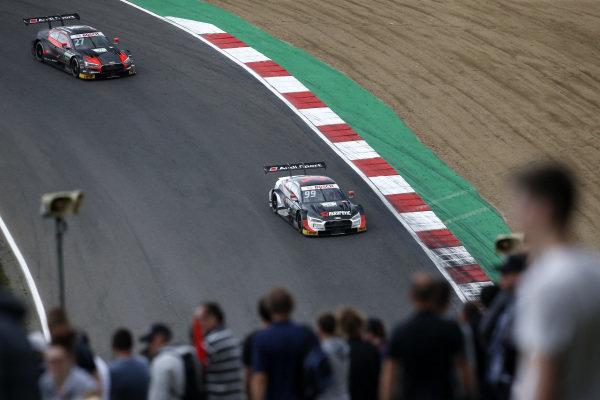 Mike Rockenfeller, Audi Sport Team Phoenix, Audi RS 5 DTM, Jonathan Aberdein, Audi Sport Team WRT, Audi RS 5 DTM.