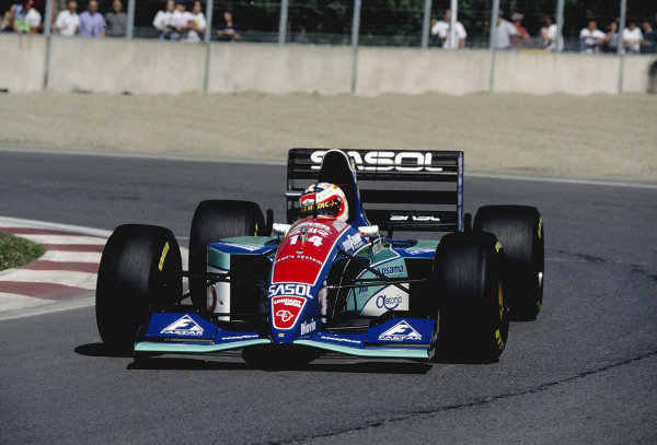1994 Canadian Grand Prix.Montreal, Quebec, Canada. 10-12 June 1994.Rubens Barrichello (Jordan 194 Hart) 7th position.Ref-94 CAN 14.World Copyright - LAT Photographic