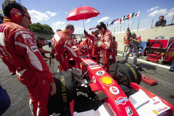 Michael Schumacher prepares for his 250th - and potentially final - Grand Prix.