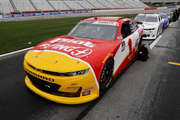 Michael Annett, JR Motorsports Chevrolet Flexfit 110, Copyright: Chris Graythen/Getty Images.