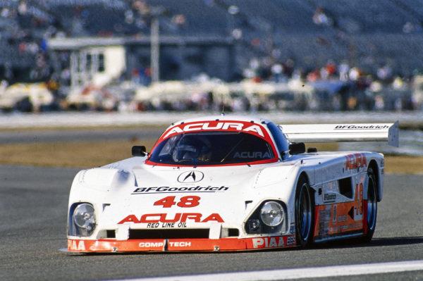 Kazuo Shimizu / Ruggero Melgrati / Bob Lesnett / Costas Los / Steve Cameron / Doug Peterson / Jimmy Vasser, Comptech Racing, Spice SE90P Acura.