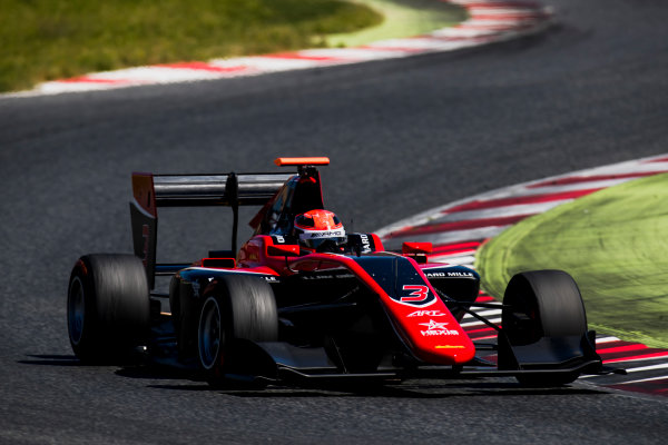 2016 GP3 Series Test 2. Circuit de Catalunya, Barcelona, Spain. Thursday 20 April 2017. George Russell (GBR, ART Grand Prix)  Photo: Zak Mauger/GP3 Series Media Service. ref: Digital Image _56I5465