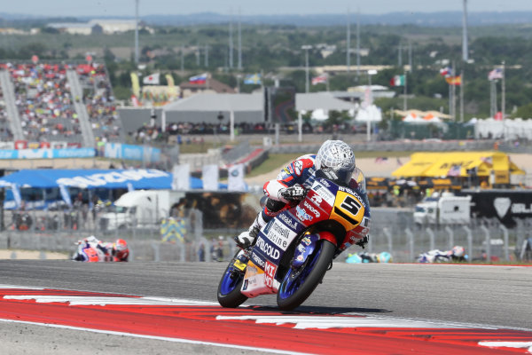 2017 Moto3 Championship - Round 3 Circuit of the Americas, Austin, Texas, USA Sunday 23 April 2017 Romano Fenati, Marinelli Rivacold Snipers World Copyright: Gold and Goose Photography/LAT Images ref: Digital Image Moto3-R-500-2711