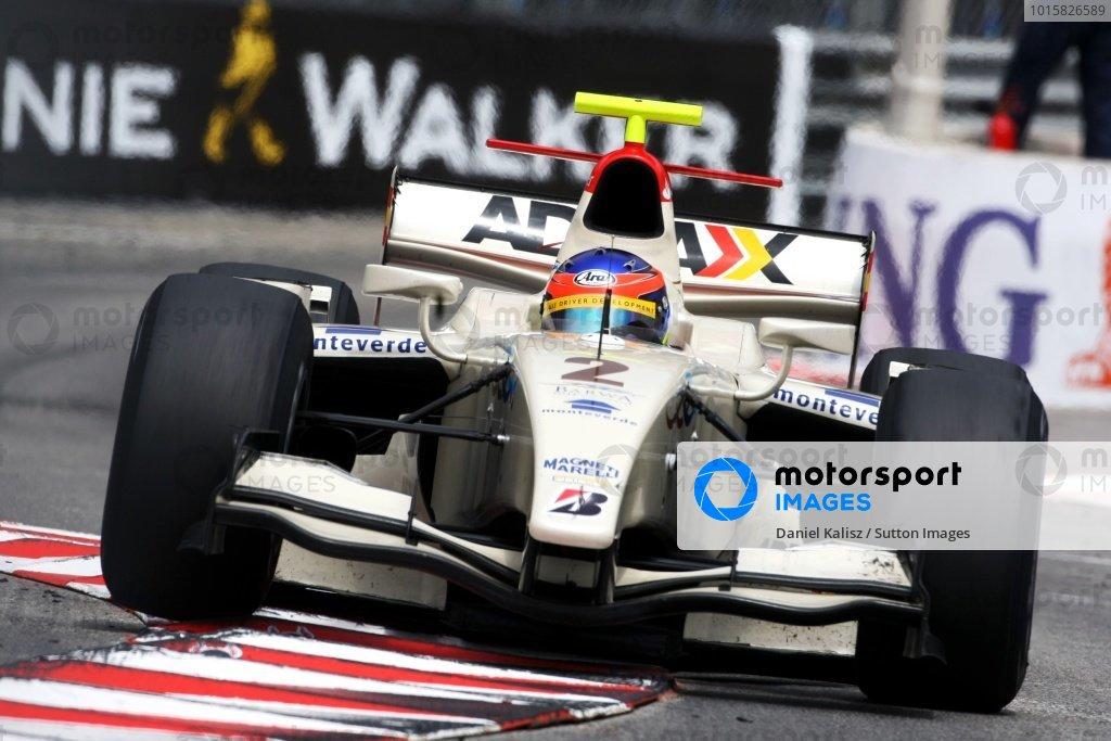 Romain Grosjean (FRA) Barwa Addax Team. GP2 Series, Rd 2, Race 1, Monte-Carlo, Monaco, Friday 22 May 2009.