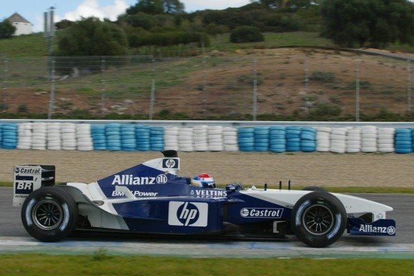 Marc Gene (ESP) Williams Test Driver 