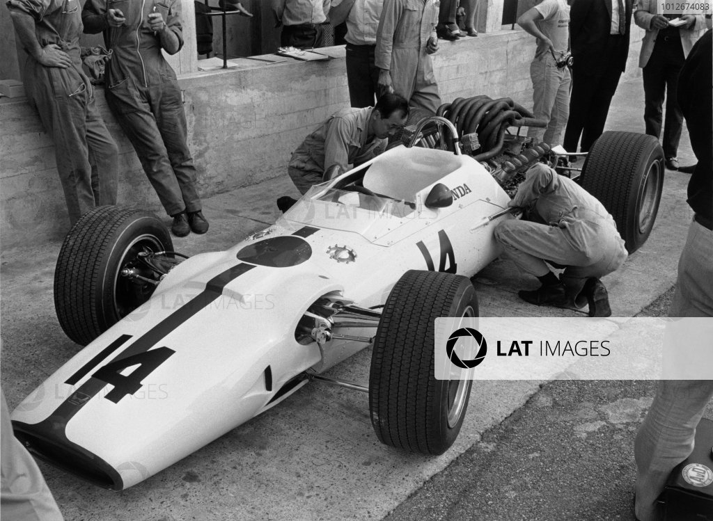 Monza, Italy. 10 September 1967.