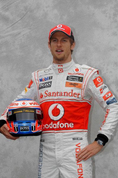 Albert Park, Melbourne, Australia24th March 2011.Jenson Button, McLaren MP4-26 Mercedes.World Copyright: John Townsend/LAT Photographicref: Digital Image JTX_7297