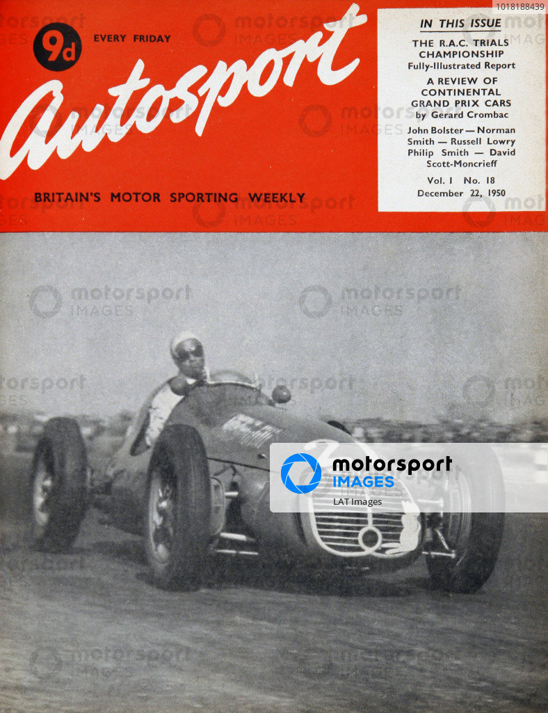 Autosport Covers 1950