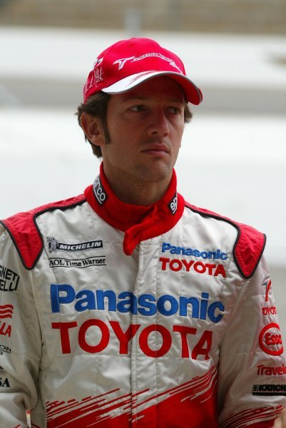 Cristiano Da Matta (BRA) Toyota.