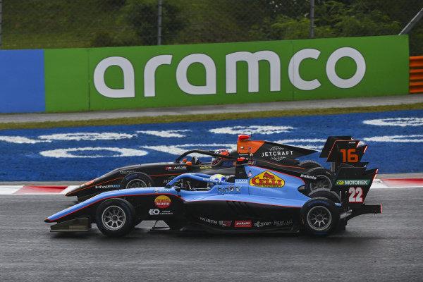 Matteo Nannini (ITA, JENZER MOTORSPORT) and Jack Doohan (AUS, HWA RACELAB)