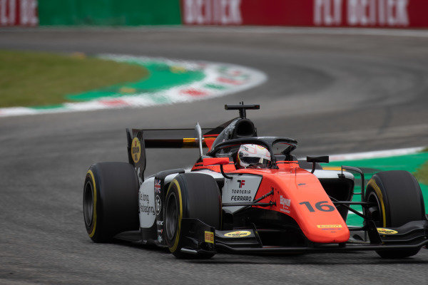 AUTODROMO NAZIONALE MONZA, ITALY - SEPTEMBER 06: Jordan King (GBR, MP MOTORSPORT) during the Monza at Autodromo Nazionale Monza on September 06, 2019 in Autodromo Nazionale Monza, Italy. (Photo by Joe Portlock / LAT Images / FIA F2 Championship)