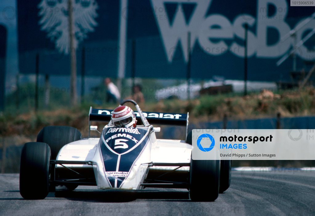 Nelson Piquet (BRA), Brabham BT49C. The race was declared a non-championship race due to the FISA-FOCA war and was probably the last ever Formula Libre race ever as the cars did not conform to the 1981 F1 rules prohibiting the use of skirts. South African Grand Prix, Kyalami, South Africa, 7 February 1981.