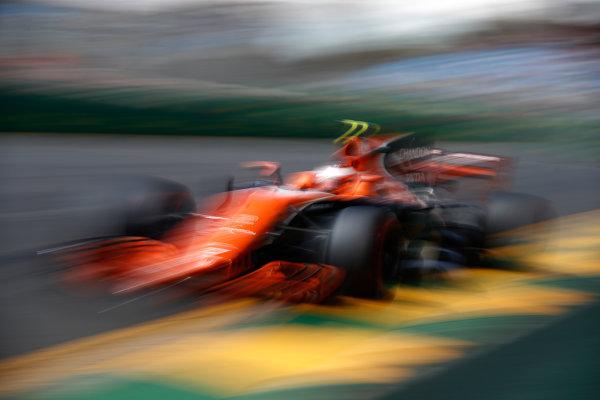 Albert Park, Melbourne, Australia. Friday 24 March 2017. Stoffel Vandoorne, McLaren MCL32 Honda. World Copyright: Glenn Dunbar/LAT Images Ref: Digital Image _31I9485