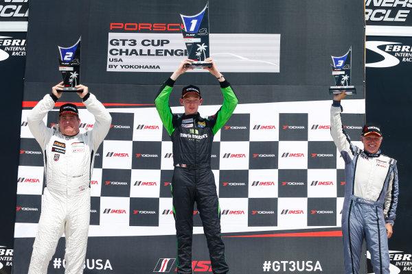 2017 Porsche GT3 Cup USA Sebring International Raceway, Sebring, FL USA Friday 17 March 2017 GT3 Cup USA, Race 2, Gold Cup World Copyright: Jake Galstad/LAT Images ref: Digital Image lat-galstad-SIR-0317-14700
