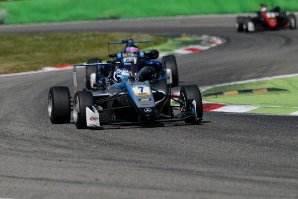 2017 FIA Formula 3 European Championship. Round 2 - Monza, Italy. Sunday 30 April 2017. Ralf Aron, Hitech Grand Prix, Dallara F317 - Mercedes-Benz World Copyright: James Gasperotti/LAT Images ref: Digital Image _JG14719