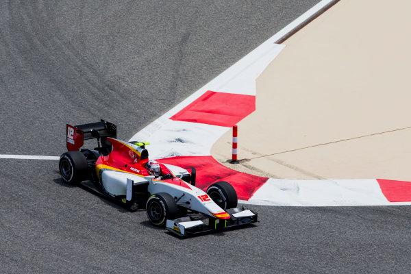 2017 FIA Formula 2 Round 1. Bahrain International Circuit, Sakhir, Bahrain.  Friday 14 April 2017. Stefano Coletti (MON, Campos Racing)  Photo: Zak Mauger/FIA Formula 2. ref: Digital Image _X0W3849