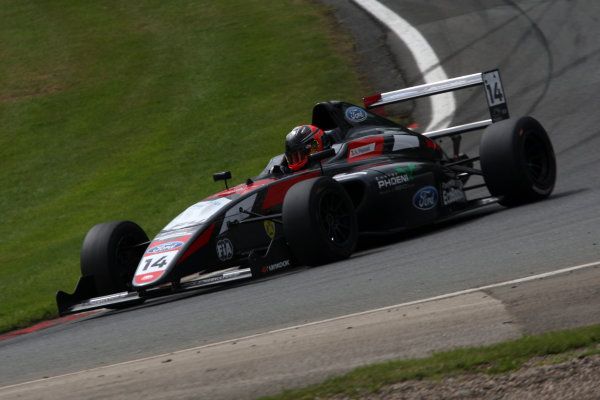 2017 British F4 Championship Oulton Park, 20th-21st May 2017, Karl Massaad (LEB) Double R Racing British F4 World copyright. JEP/LAT Images