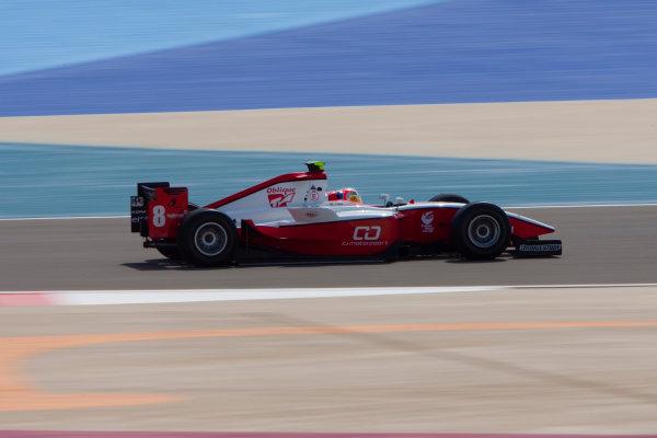 Bahrain International Circuit. Sakhir, Bahrain.Thursday Practice. 25th February.Sam Bird (GBR, ART Grand Prix). Action. World Copyright: Alastair Staley/GP2 Media Service.Ref: _O9T2234 jpg