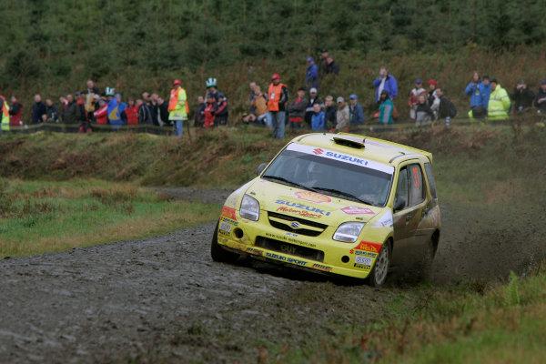 2004 FIA World Rally Champs. Round twelve, Wales Rally GB.16th- 19th September 2004.Guy Wilks, Suzuki, actionWorld Copyright: McKlein/LAT