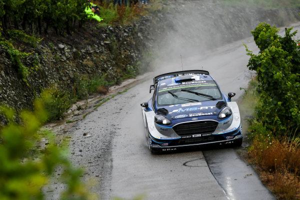 2017 FIA World Rally Championship, Round 10, Rallye Deutschland, 17-20 August, 2017, Ott Tanak, Ford, action, Worldwide Copyright: McKlein/LAT