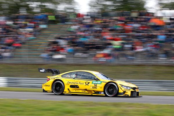 2017 DTM Round 7  Nürburgring, Germany  Sunday 10 September 2017. Timo Glock, BMW Team RMG, BMW M4 DTM  World Copyright: Alexander Trienitz/LAT Images ref: Digital Image 2017-DTM-Nrbg-AT1-2473