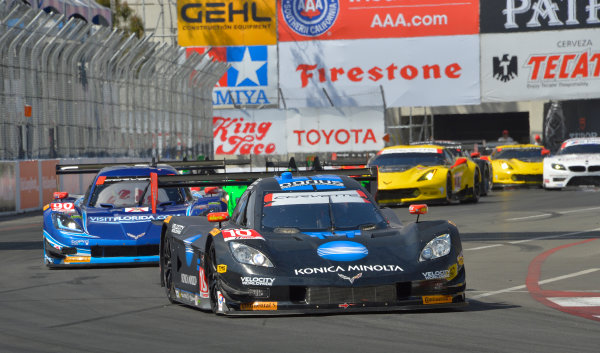 11-12 April, 2014, Long Beach, California USA #10, Chevrolet, Corvette DP, P, Ricky Taylor, Jordan Taylor ©2014, Dan R. Boyd Lat Photo USA