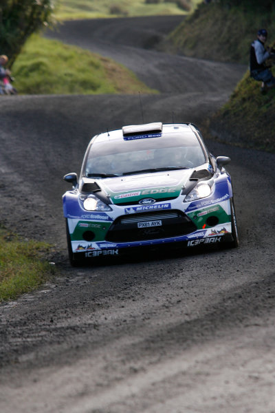 Round 7, Rally New Zealand, 21st-24th June 2012 Petter Solberg, Ford Fiesta, Action. Worldwide Copyright: McKlein/LAT Photographic.