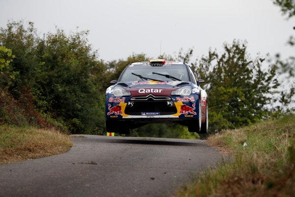 Round 09-Rallye Deutschland 23-26/8-2012.Thierry Neuville, Citroen WRC, Action.Worldwide Copyright: McKlein/LAT