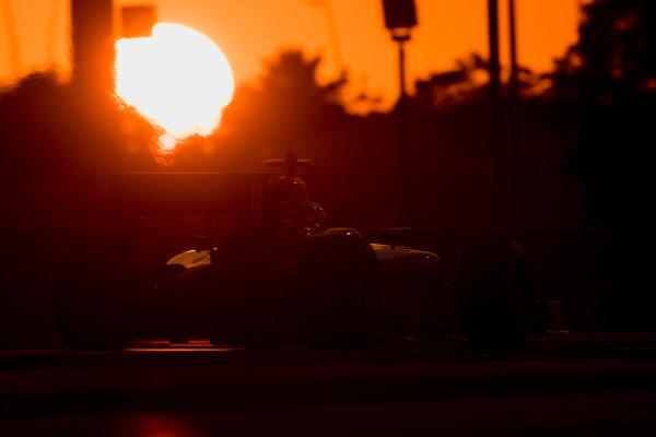 2017 FIA Formula 2 Test 3. Yas Marina Circuit, Abu Dhabi, United Arab Emirates. Thursday 30 November 2017. Rene Binder (AUT, Rapax).  Photo: Zak Mauger/FIA Formula 2. ref: Digital Image _O3I3955