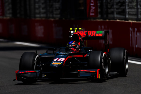 2017 FIA Formula 2 Round 4. Baku City Circuit, Baku, Azerbaijan. Friday 23 June 2017. Johnny Cecotto Jr. (VEN, Rapax)  Photo: Zak Mauger/FIA Formula 2. ref: Digital Image _54I9792