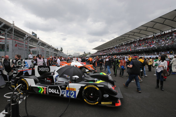 2016 FIA World Endurance Championship, Mexico City, Autodromo Hermanos Rodriguez, 1st-3rd September 2016, Nick Leventis / Lewis Williamson / Jonny Kane - Strakka Racing Gibson 015S-Nissan  World Copyright. Jakob Ebrey/LAT Photographic