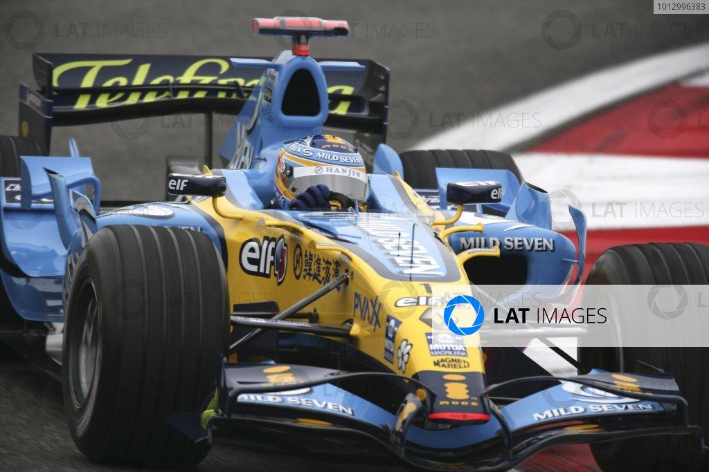 2006 Chinese Grand Prix - Saturday Practice
