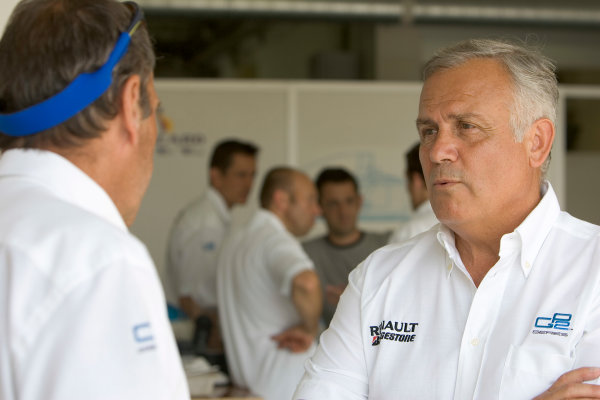 2005 GP2 Series Press DayPaul Ricard, FrancePatrick Tambay (FRA) prepares to drive the GP2 car. 28th June 2005World copyright: GP2 media serviceHi-Res Available on request