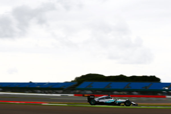 Silverstone, Northamptonshire, UK. Wednesday 13 July 2016. Pascal Wehrlein, test and development driver, Mercedes F1 W07 Hybrid.  World Copyright: Zak Mauger/LAT Photographic ref: Digital Image _L0U8435