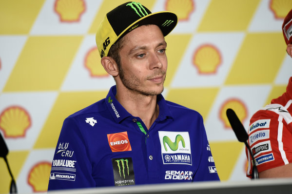 2017 MotoGP Championship - Round 17 Sepang, Malaysia. Thursday 26 October 2017 Valentino Rossi, Yamaha Factory Racing World Copyright: Gold and Goose / LAT Images ref: Digital Image 701404