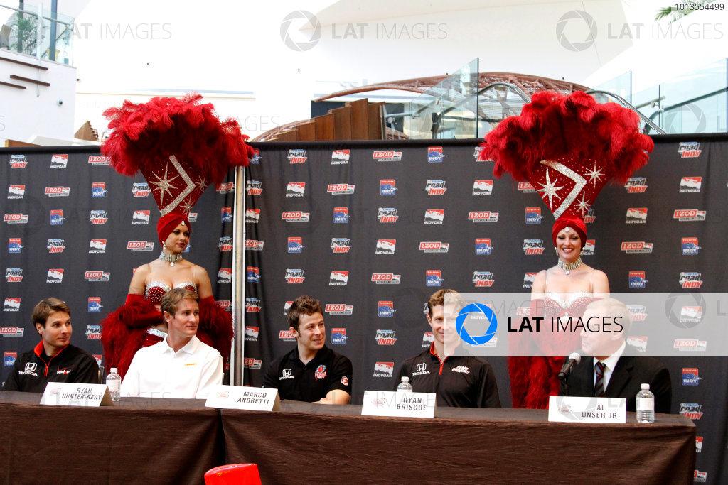 2011 IndyCar Las Vegas Race Announcement