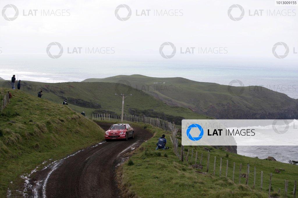 2006 FIA World Rally Champs. Round 6Rally New Zealand, 16-19th November 2006Dani Sordo, Citroen, actionWorld Copyright: McKlein/LAT