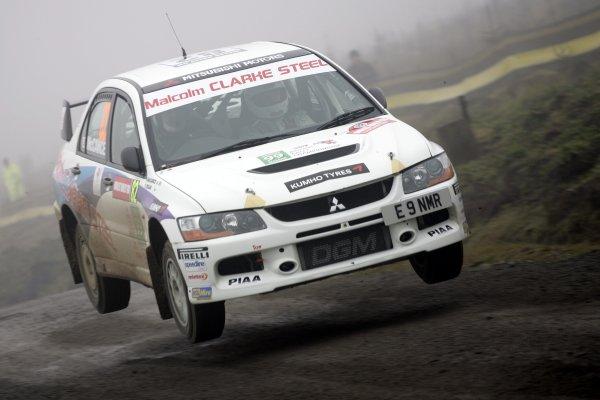 2006 British Rally Championship.Wales Rally GB. 1st-3rd December 2006.Neil McCance,World Copyright: Ebrey/LAT Photographic.