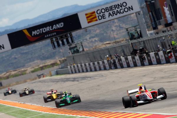 ALCANIZ (ESP) MAY 4-6 2012 -  First Round of the Formula Renault 3 5 Series 2012 at Motorland Aragon. #4 Robin Frijns (NLD), Fortec Motorsports. Action. © 2012 Ronald Fleurbaaij / LAT Photographic
