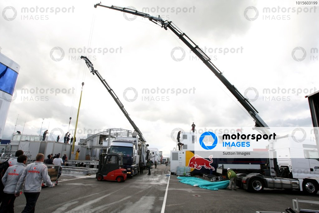 British Grand Prix Preparations
