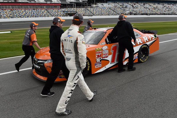 20-21 February, 2015, Daytona Beach, Florida USA Daniel Suarez, Arris Toyota Camry ?2015, John Harrelson / LAT Photo USA