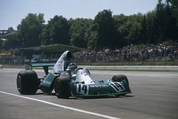 1974 Italian Grand Prix.  Monza, Italy. 6-8th September 1974.  Jean-Pierre Beltoise, BRM P201, retired.  Ref: 74ITA01. World Copyright: LAT Photographic