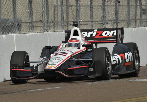 22-24 March, 2013, St Petersburg, Florida USA.#2 Will Power Verizon Team Penske Chevrolet ©2013, Dan R.  LAT Photo USA