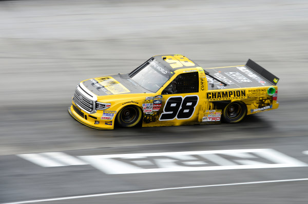 NASCAR Camping World Truck Series UNOH 200 Bristol Motor Speedway, Bristol, TN USA Wednesday 16 August 2017 Grant Enfinger, Champion Power Equipment\ Curb Records Toyota Tundra World Copyright: John K Harrelson LAT Images